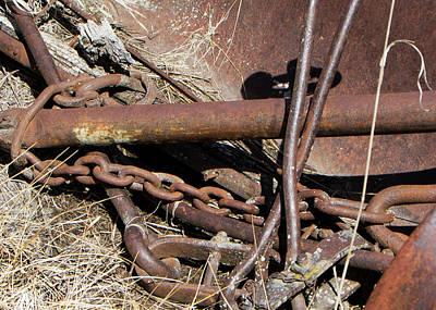 Photograph - Rusty Farm Machine 1 by Doug Matthews