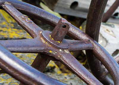 Photograph - Rusty Farm Machine 2 by Doug Matthews