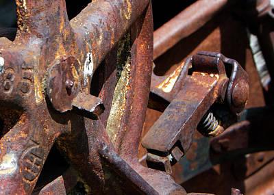 Photograph - Rusty Farm Machine 3 by Doug Matthews