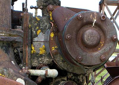Photograph - Rusty Farm Machine 6 by Doug Matthews