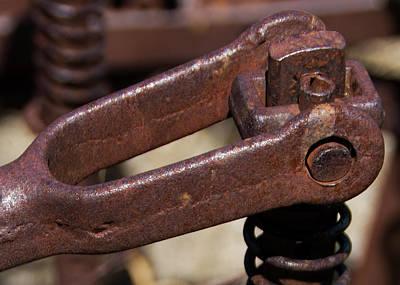 Photograph - Rusty Farm Machine 7 by Doug Matthews