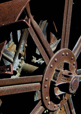 Photograph - Rusty Farm Machine 9 by Doug Matthews