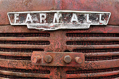 Photograph - Rusty Farmall by Luke Moore