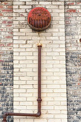 Photograph - Rusty Fire Bell by Sharon Popek