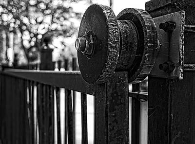 Photograph - Rusty Gate by Miguel Winterpacht