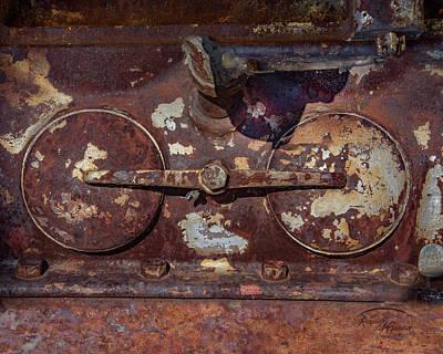 Digital Art - Rusty Gears by Ramona Murdock