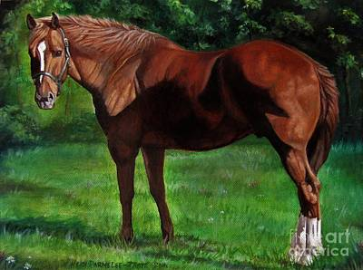 Painting - Rusty by Heidi Parmelee-Pratt