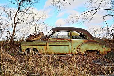 Photograph - Rusty Jalopy by Bonfire Photography