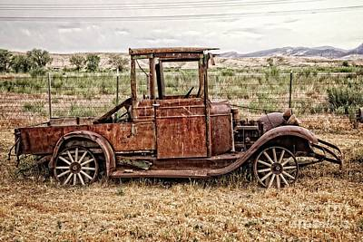 Photograph - Rusty Jalopy by Imagery by Charly