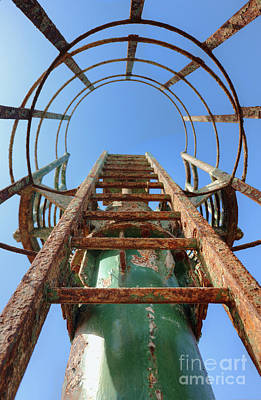 Rusty Ladder Art Print by Noam Armonn