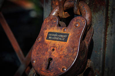 Photograph - Rusty Lock by Doug Camara