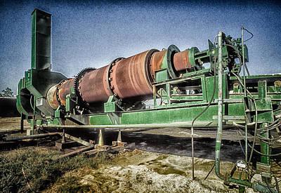 Photograph - Rusty Machinery by John Brink