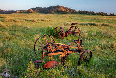 Rusty Machinery Art Print by Todd Klassy
