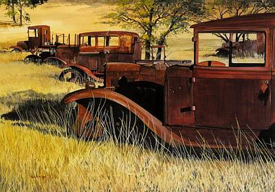 Painting - Rusty Meadows by Robert W Cook