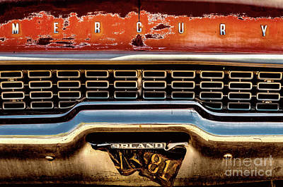 Photograph - Rusty Mercury by Miles Whittingham