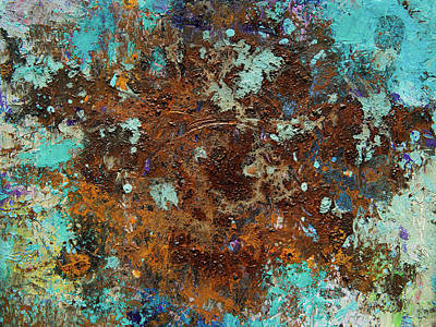 Painting - Rusty Moment by Judith Barath