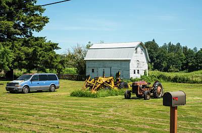 Photograph - Rusty Nooksack Neighbors by Tom Cochran
