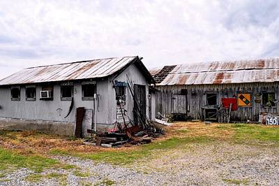 Photograph - Rusty Old Farm Buildings by Kirsten Giving