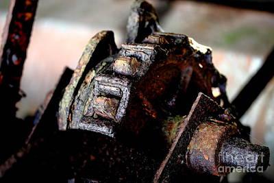 Rusty Old Farm Equipment 3 Art Print