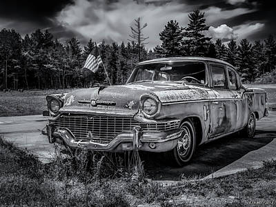 Photograph - Rusty Old Studebaker by Ken Morris