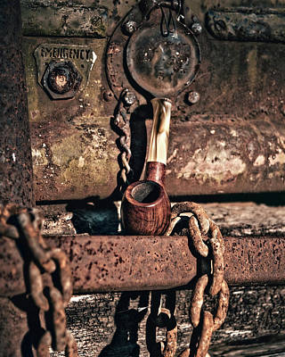 Photograph - Rusty Pipe by Philip A Swiderski Jr