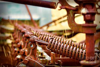 Photograph - Rusty Plough by Stuart Row