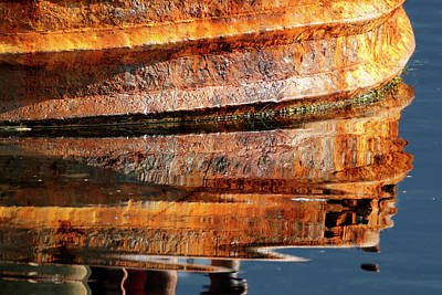 Photograph - Rusty Reflections - 365-210 by Inge Riis McDonald