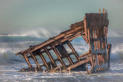 Peter Iredale Photograph - Rusty Relic 0717 by Kristina Rinell