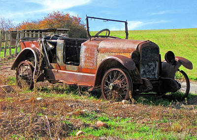Photograph - Rusty Relic by David King
