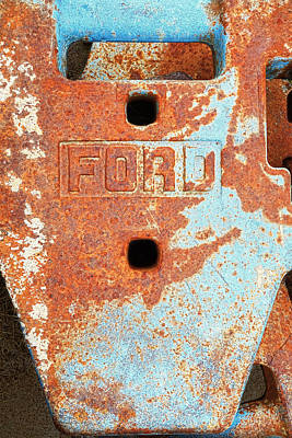 Photograph - Rusty Relic - Photography by Ann Powell
