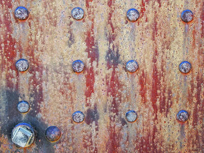 Photograph - Rusty Rivets by David King
