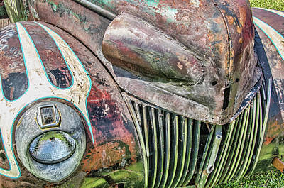 Photograph - Rusty Road Warrior by David Lawson