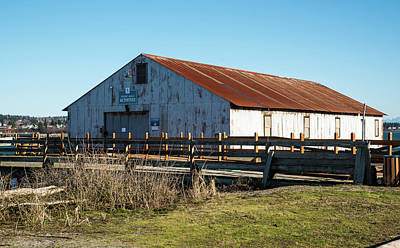 Photograph - Rusty Roof Activities Center by Tom Cochran