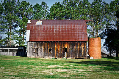 Photograph - Rusty Roof Barn by Douglas Barnett