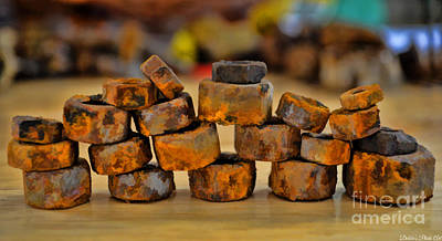 Photograph - Rusty Stack IIi by Debbie Portwood