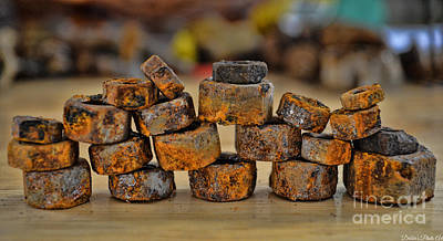 Photograph - Rusty Stack I by Debbie Portwood