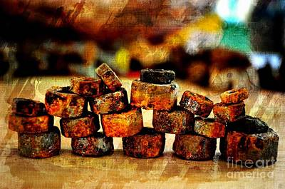 Photograph - Rusty Stack II by Debbie Portwood