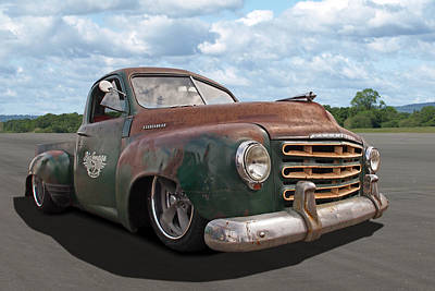 Photograph - Rusty Studebaker by Gill Billington
