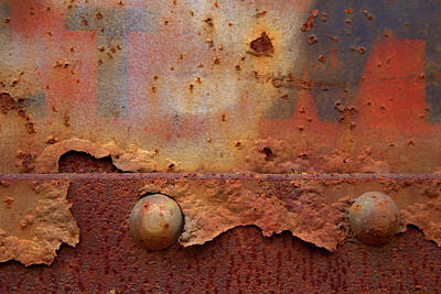 Photograph - Rusty Train  by Karol Livote