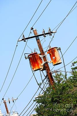 Photograph - Rusty Transformers by Carol Groenen