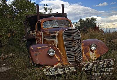 Photograph - Rusty Truck by Anthony Jones