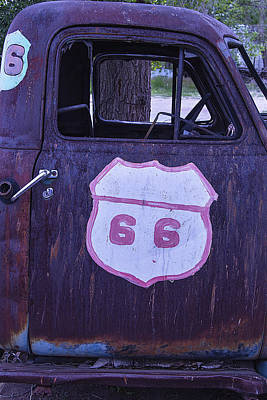 Photograph - Rusty Truck Door by Garry Gay