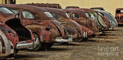 Photograph - Rusty Trunks by Steven Parker