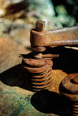 Photograph - Rusty Valve by WB Johnston