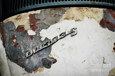 Photograph - Rusty Volkswagen Beetle 1303 by Dean Harte