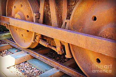 Photograph - Rusty Wheels  by Carol Groenen