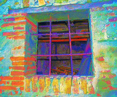 Photograph - Facelift For A Rusty Window by Dorothy Berry-Lound