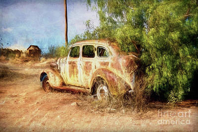 Photograph - Rusty Wreck 1 by Stuart Row