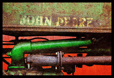 Photograph - Rusty Yet Trusty John Deere by Luke Moore