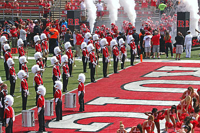 Photograph - Rutgers Football by Allen Beatty